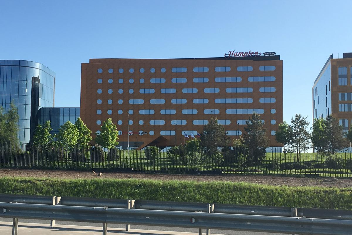 Hilton Hotel St Petersburg Russia
