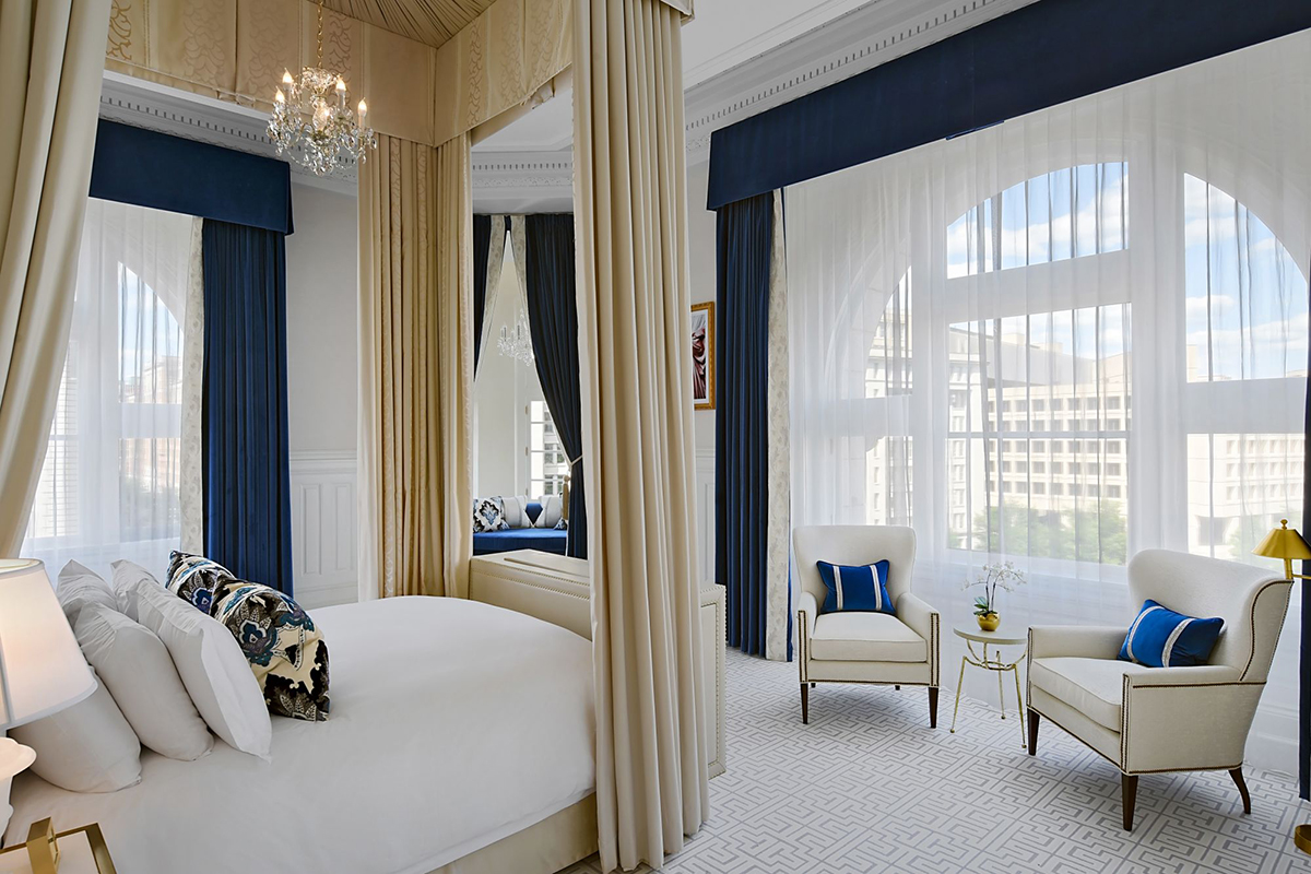One of the suites at Trump International Hotel Washington, D.C. </br>photo: (с) trumphotels.com