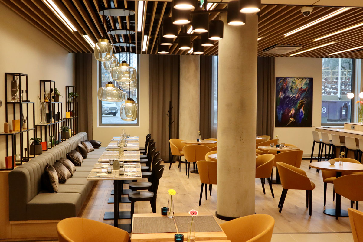 Restaurant at Courtyard by Marriott Tampere City