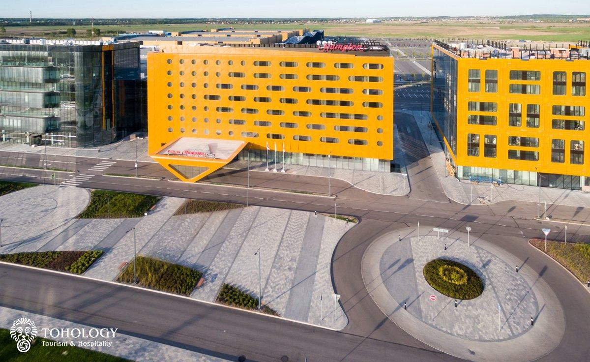 Bird's-eye view of Hampton by Hilton Saint Petersburg ExpoForum hotel