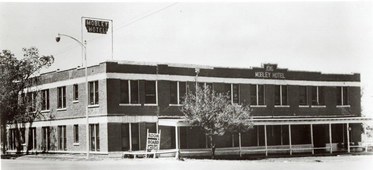 Mobley Hotel (Cisco, Texas), acquired by Conrad Hilton in 1919.