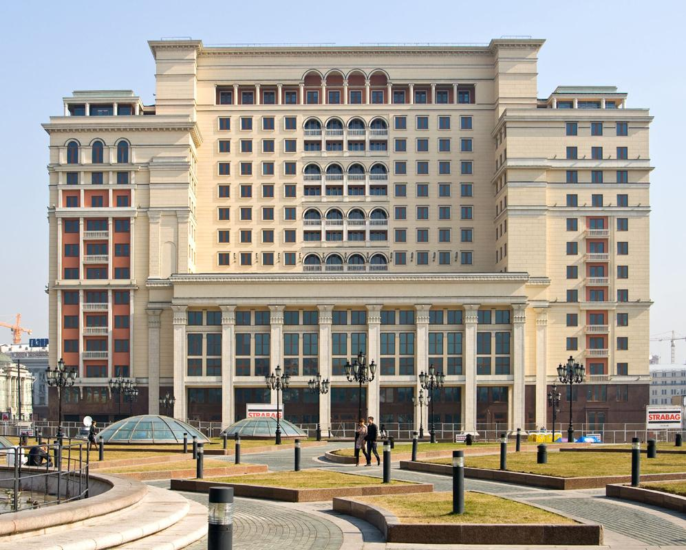 Four Seasons Hotel Moscow </br> Photo: (c) hotel-moskva.com