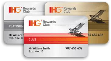 Loyalty programme card, now