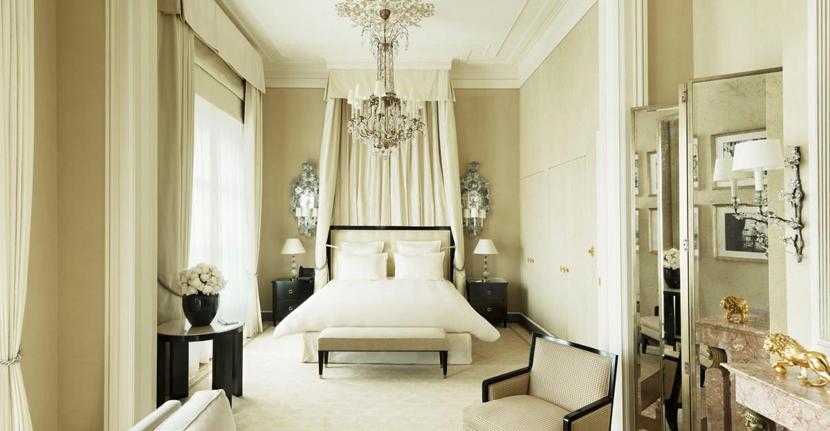 Suite Coco Chanel designed by Karl Lagerfeld for the Ritz Paris hotel<br/>Photo: (с) Ritz Paris