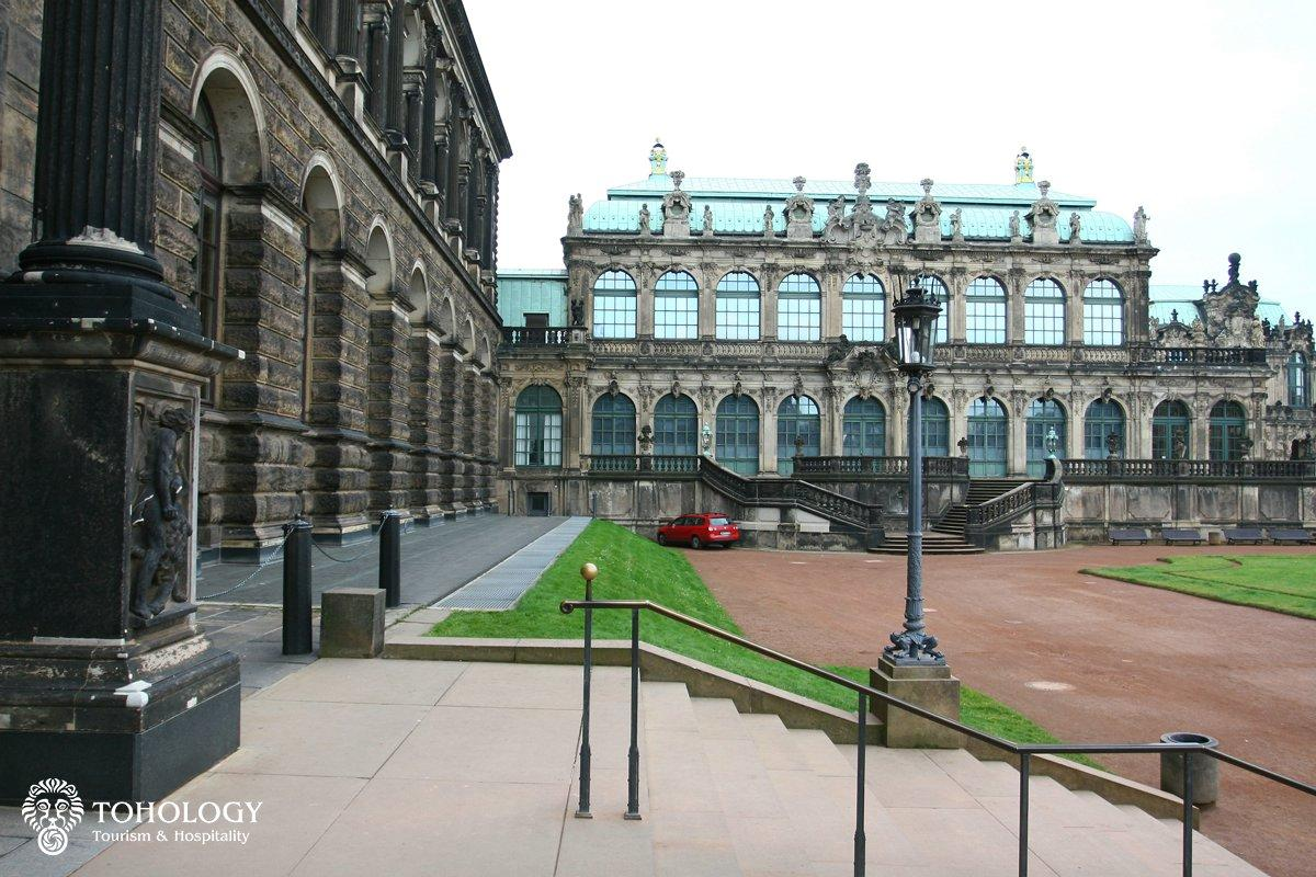The Zwinger, historic centre