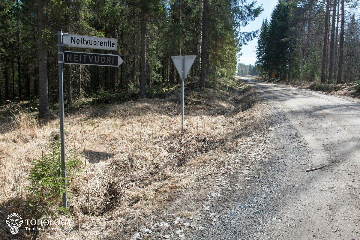 The second turn to Neitvuori