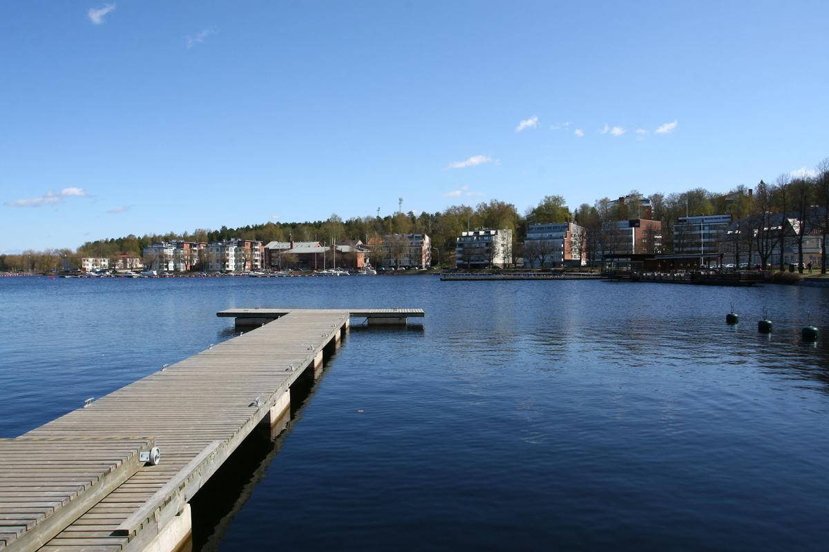 Lake in Lappeenranta