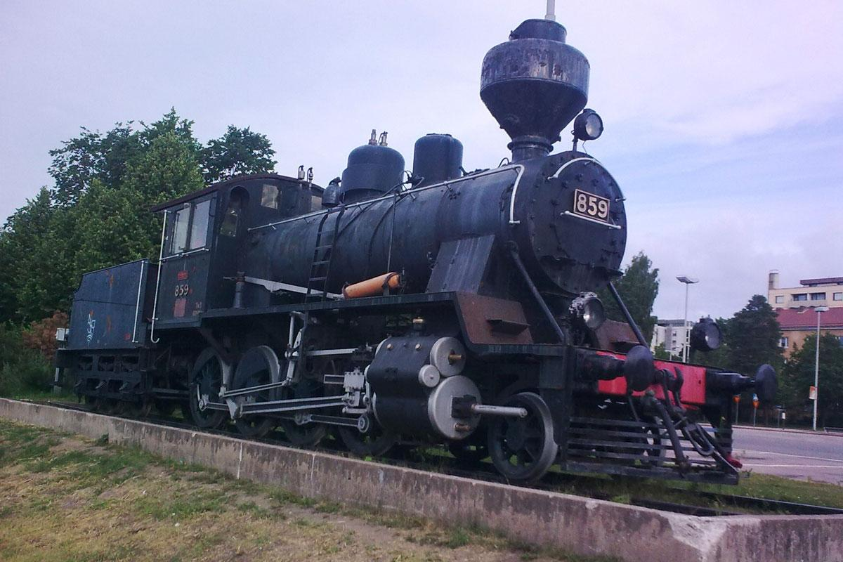 Old train in Kouvola