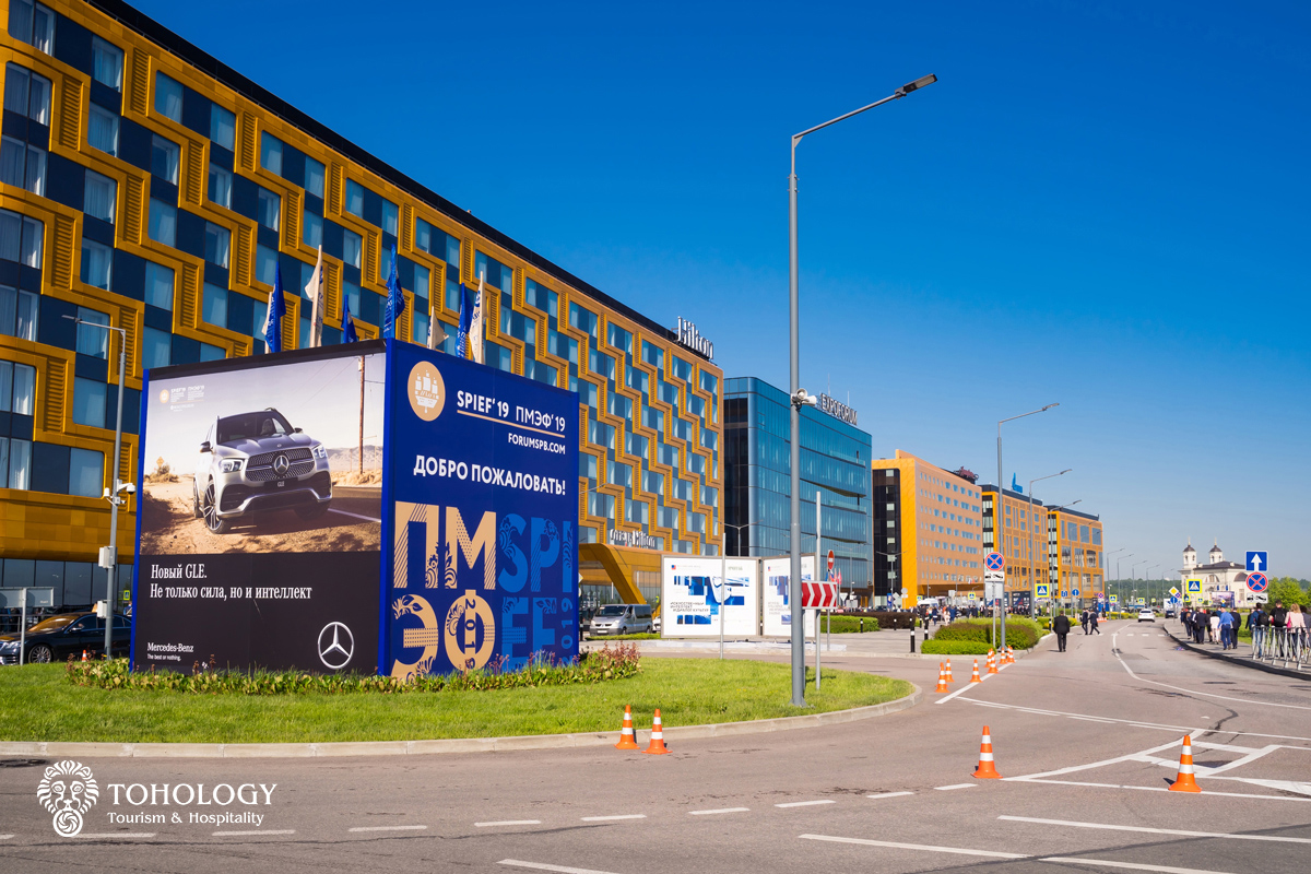 Photography overview of the St  Petersburg International