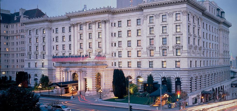 The Fairmont San Francisco hotel (in reality) </br> Photo: (с) Fairmont Hotels & Resorts