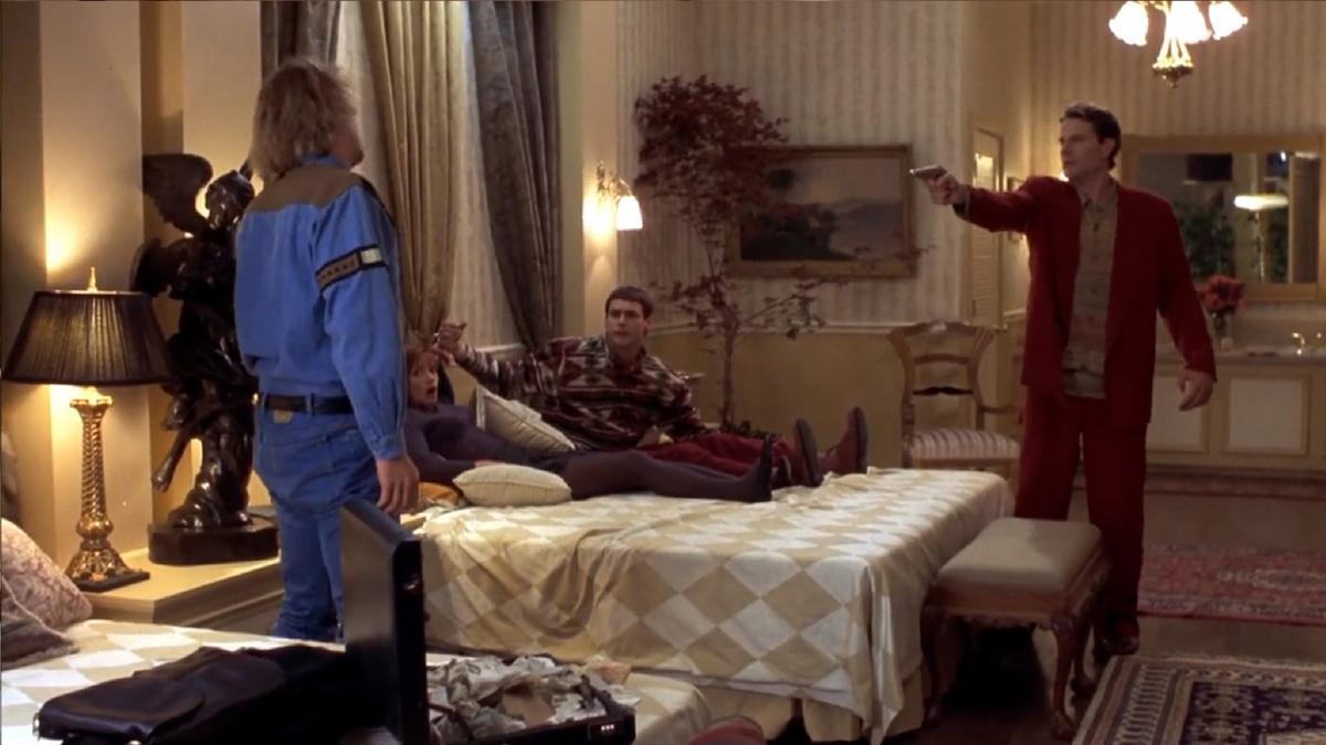 """Dumb and dumber"""" film: The Stanley Hotel"""