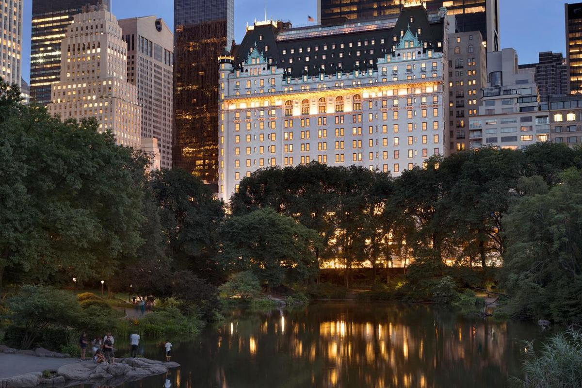 The Plaza hotel (in reality) </br> Photo: (с) Fairmont Hotels & Resorts
