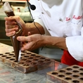 Master class by the Swiss chocolatier Urs Meichtry