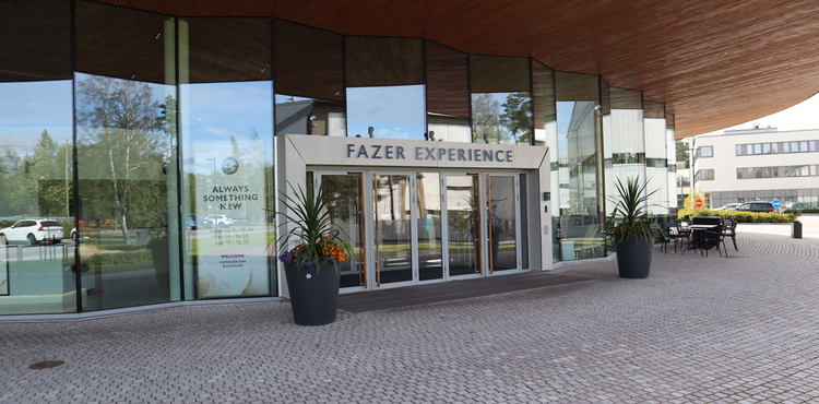 Overview of the Fazer Experience Visitor Centre in Vantaa (Helsinki), Finland