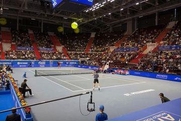 Review of tennis tournament St. Petersburg Open 2015
