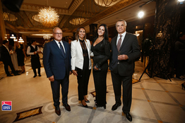 St. Petersburg Open 2018 players' party at the Lotte Hotel St. Petersburg (17 September 2018 – photo gallery)
