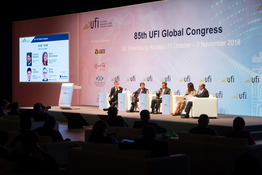 St. Petersburg hosted 85th UFI Global Congress, the exhibition industry's annual international gathering (1 November 2018 – photo gallery)