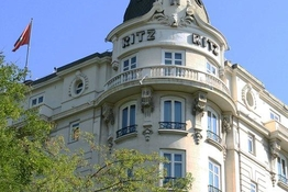 Historic hotels: Hotel Ritz Madrid (Spain)