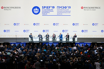 Photography overview of the St. Petersburg International Economic Forum (06 June 2019 – photo gallery)