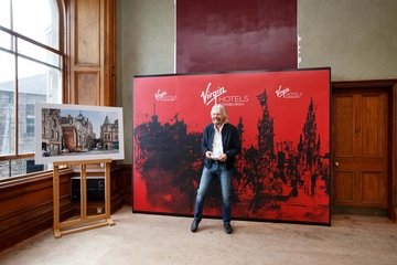 Richard Branson has announced the opening of the first Virgin Hotel in Europe