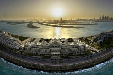 Emerald Palace Kempinski Dubai: new palace by the sea opens its doors to guests of the United Arab Emirates